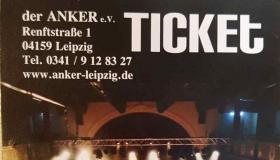 Kartenvorverkauf im ANKER und online gestartet